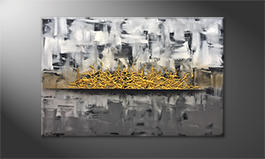 Le tableau exclusif 'Golden Struggle' 120x80cm