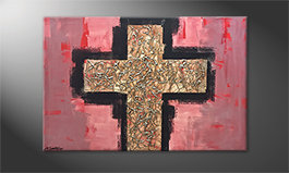 Le tableau exclusif 'Heavy Cross' 120x80cm