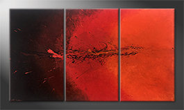 Le tableau exclusif 'Hot Splash' 150x85cm