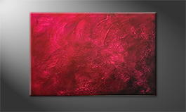 Le tableau exclusif 'Just Love' 120x80cm