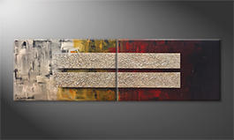 Le tableau exclusif 'Keep Focus' 200x60cm