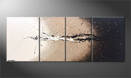 Le tableau exclusif 'Light Splash' 180x70cm