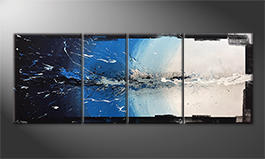 Le tableau exclusif 'Liquid Ice' 210x80cm