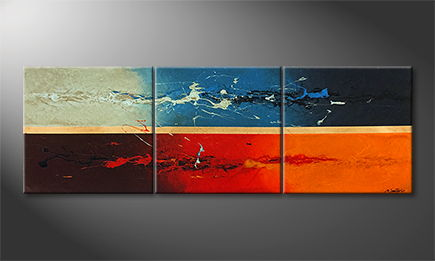 Le tableau exclusif 'Liquids Elements' 210x70cm