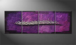Le tableau exclusif 'Lost Galaxy' 200x70cm