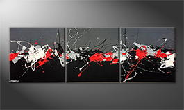 Le tableau exclusif 'Modern Signs' 210x70cm