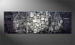 Le tableau exclusif 'Moonlit Night' 240x80cm