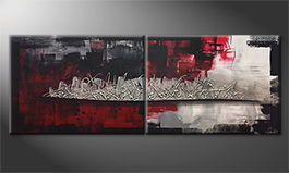 Le tableau exclusif 'Nightly Shadows' 160x60cm
