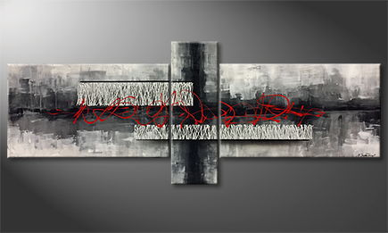 Le tableau exclusif 'Nothing Is Everything' 230x90cm