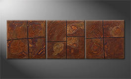 Le tableau exclusif 'Rusty Moments' 210x70cm