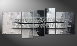 Le tableau exclusif 'Spinning Silver' 190x80cm