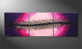 Le tableau exclusif 'Splitted Universe' 210x70cm