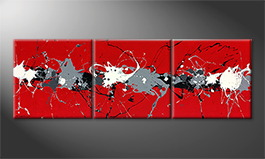 Le tableau exclusif 'Superblast' 210x70cm