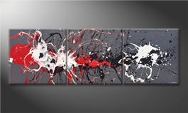Le tableau moderne 'Blasted Contrast' 210x70