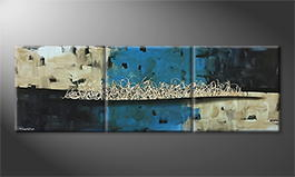 Le tableau mural 'Arctic Distortion' 210x70cm