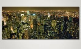 Le tableau mural 'Big Apple' 120x50cm