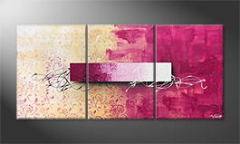 Le tableau mural 'Bloc Lights' 150x70cm