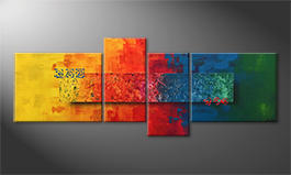 Le tableau mural 'Colors Of Nature' 180x70cm