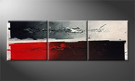 Le tableau mural 'Counter Part' 210x70cm