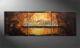 Le tableau mural 'Earth Secret' 210x70cm