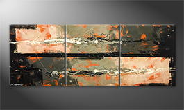 Le tableau mural 'Electric Lights' 180x70cm