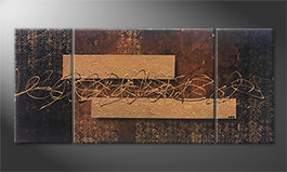 Le tableau mural 'Emotional Treasure' 180x80cm