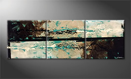Le tableau mural 'Fresh Splash' 210x70cm