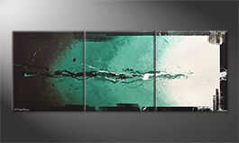 Le tableau mural 'Glow Of Hope' 180x70cm