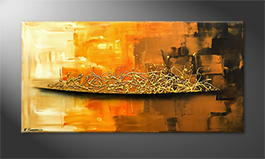 Le tableau mural 'Golden Morning' 120x60cm
