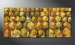 Le tableau mural 'Golden Summer' 180x80cm