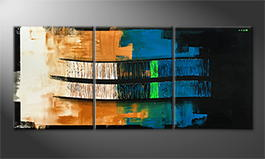Le tableau mural 'Green Hope' 180x80cm