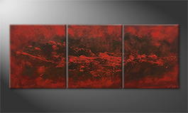 Le tableau mural 'Heaven and Hell' 210x80cm