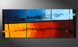 Le tableau mural 'Hot and Cold' 150x60cm