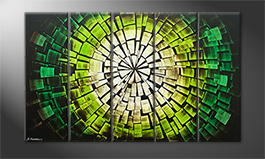 Le tableau mural 'Jungle Sun' 150x90cm