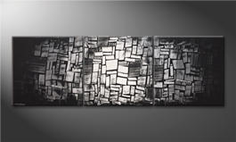 Le tableau mural 'Light Mosaic' 240x80cm
