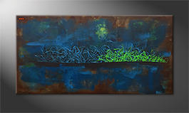 Le tableau mural 'Living Water' 140x70cm