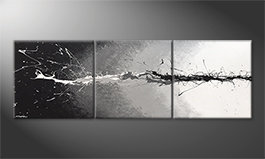 Le tableau mural 'Lost Colors' 210x70cm