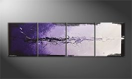 Le tableau mural 'Magic Moment' 200x60cm