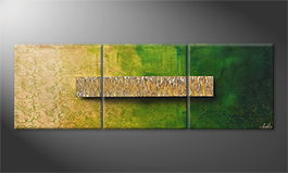 Le tableau mural 'Morning Chill' 180x60cm