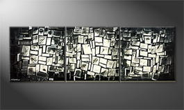 Le tableau mural 'NYC-Construct' 210x70cm