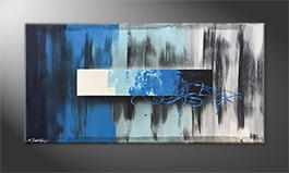Le tableau mural 'Night Into Day' 120x60cm