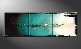Le tableau mural 'Paciffic Dream' 210x70cm