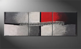 Le tableau mural 'Priorities' 210x70cm