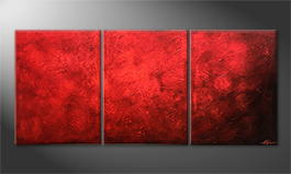 Le tableau mural 'Red Dream' 180x80cm