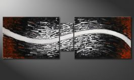 Le tableau mural 'River of Nowhere' 180x60cm