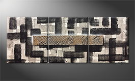 Le tableau mural 'Secret Maze' 180x70cm