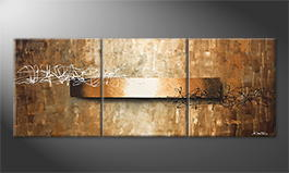Le tableau mural 'Signs Of Light' 180x70cm