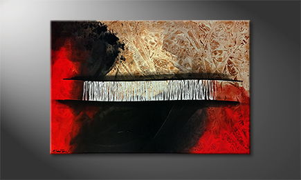 Le tableau mural 'South Of Heat' 120x80cm
