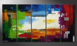 Le tableau mural 'Strange Day' in 150x80cm