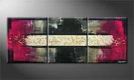 Le tableau mural 'Stream Of Life' 180x70cm